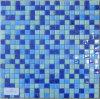 Iridio di vetro dell'azzurro di Mosaico