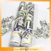 Euro y USD de los dólares del aire comprimido de tirador del confeti