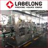 Machine à étiquettes de double de têtes chemise de rétrécissement pour le remplissage de bouteilles de ressort