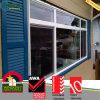 Ventana de obturador de aluminio, pvc ventanas de impacto del huracán, obturador de la rejilla