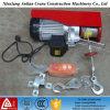 Миниый подъем кабеля вагонетки электрической лебедки 220V электрический