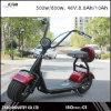 大きいタイヤのセリウムの承認の800W小型Harleyの電気スクーター