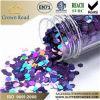 Sechseckiges Metallic Glitter Powder für Decorations