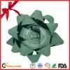 Curva plástica da estrela da fita de 3 polegadas para a decoração do feriado