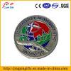Moneda de prueba plana de encargo del desafío de la insignia del metal