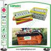 Plastikineinander greifen Folable Rahmen-Behälter für Gemüse