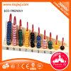 장난감 나무로 되는 구슬 주판 Montessori 장난감을 세기