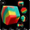 Venta caliente una alta calidad ecológica 26ml de concentrado de contenedor de aceite de silicona hexagonal