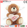 Urso macio do brinquedo dos animais do Valentim