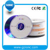 Blanc estampé à une seule couche DVD-R 16X 4.7GB 120min de logo de Ronc