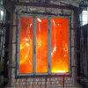 장식적인 건물 유리 10mm 두껍게 청결한 Tempered 박판으로 만들어진 화재 유리