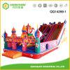 Jouet gonflable de Childern de château pour le parc d'attractions avec la glissière