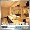Columna de mármol redonda y pilares de las columnas de mármol para la decoración