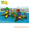 Patio de la diapositiva del parque del agua del parque de atracciones del agua del hotel para la venta