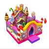 Eben Süßigkeit-aufblasbarer Spielplatz-federnd Haus aufblasbares Funcity
