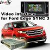 Android 4.4 5.1 навигационного GPS для Ford Edge Sync 3 с Mirrorlink видео интерфейс