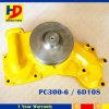 De Pomp van het Water van de Druk van de dieselmotor voor pc300-6 6D108