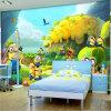 Pinturas murais interiores da parede do papel de parede da decoração do quarto feito sob encomenda do projeto da forma