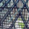 使用を囲う壁のための熱い販売の固体鋼鉄格子