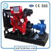 Einzelnes Stadiums-horizontale Enden-Absaugung-Dieselbereich-Bewässerung-Pumpe