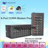 Módem de 8 puertos CDMA Piscina para enviar SMS MMS Módem CDMA (BL8)