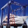 Dispositif de levage de bateau mobile, le Yacht Crane 100t