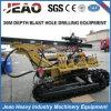 강한 힘 - Jbp100b 크롤러 드릴링 리그 기계 (30M DEEP/80-130mm 구멍)