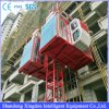 Sc100/100 de Veranderlijke Lift van het Hijstoestel van de Bouw Frenquency, het Goedgekeurde Hijstoestel ISO9001&BV van de Passagier van de Bouw