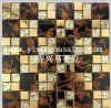 Wall DecorationのためのGM143 Good Quality Metal Mosaic Tiles Mix Metallic Glassmosaic Tiles