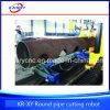 De mariene CNC van de Apparatuur Buis die van de Bundel van de Pijp van het Plasma Machine Beveling snijden