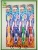 Toothbrush de borracha macio da criança da sução