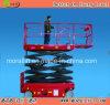 Auto-Propelled Manlift Platform di 6m Scissor