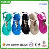 Señora Sandals (RW26200) del PVC de las mujeres de la playa hermosa del verano nueva