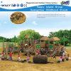 Cour de jeu extérieure Hf-10101 de glissières en bois d'amusement d'enfants