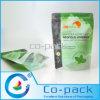 Sac debout de plastique stratifié de la coutume OPP