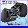 7. Подголовник DVD плеер с ЖК-дисплеем TFT с диагональю экрана монитора, USB, карта памяти SD, Fm, IR беспроводные наушники, 32-разрядный игры (H701DV)