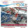 Завод оборудования трубы из волнистого листового металла PVC пластичный