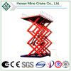 Plataforma de funcionamiento hidráulica, elevación de tijeras movible, elevación del hombre