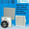 Ventilador axial de circulação de ar fresco da China para sala de gabinete eletrônico (FK7725)