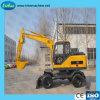 Escavatore idraulico della rotella con buona qualità ed il circuito idraulico incluso