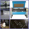 Acrylique/bois ouvre le découpage de laser et la machine de gravure