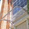 DIY Assembly Transparent Awning Material per Window