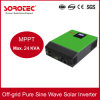 Inversor solar puro de alta frecuencia de la onda de seno con paralelo solar del cargador 6PCS de 60A MPPT