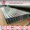 Feuille de toiture en tôle ondulée en acier galvanisé pour matériaux de construction
