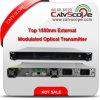 Transmetteur à laser optique à modulation externe CATV 1550nm haute performance