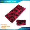 Bandana rosso multifunzionale di 25*50cm Micofiber (J-NF20F19015)