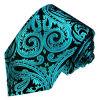 Cravates en soie tissées par modèle neuf de Paisely de mode