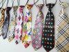 Comercio al por mayor de moda barata uniforme escolar los niños los lazos con cordón elástico