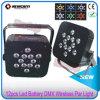 12*15W 5in1 RGBWA Flat PAR Uplighter Battery Wireless DMX