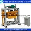 Vibrierter Flugasche-Ziegelstein-Kleber-Block, der Maschine herstellt